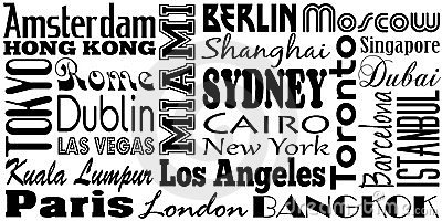 Miasta sławni