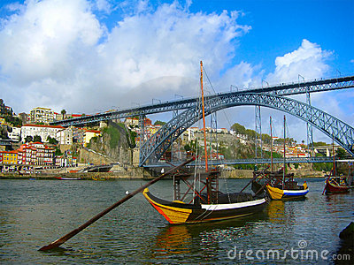 Miasto Porto Portugal