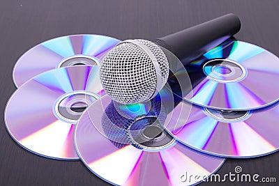 Mic on cd discs