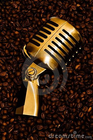 Mic & Coffee (gold) 2