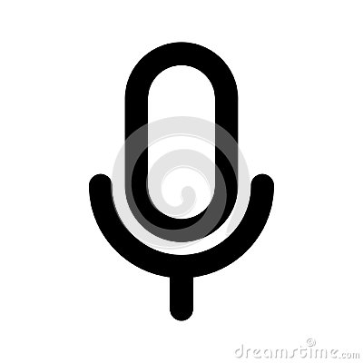 Free Mic Icon Stock Images - 100795304