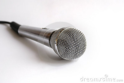 Mic para o karaoke