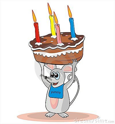 Mice and cake