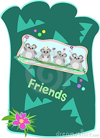 Mice Friends Pouch