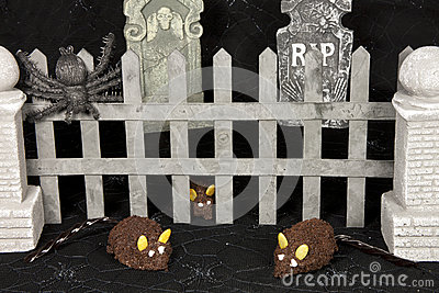 Mice in Graveyard