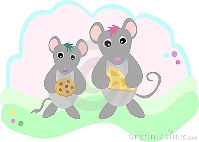 Mice with Snacks