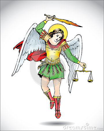 Michael The Archangel Stock Images - Image: 27000224