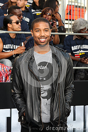 Michael B Jordan Editorial Stock Photo