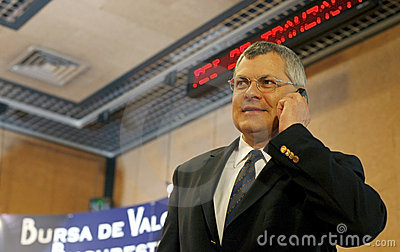 Michael Buhl - CEO of Vienna Stock Exchange Editorial Photo