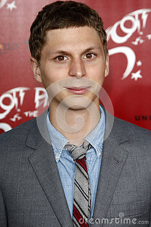 Michael Cera Editorial Stock Image