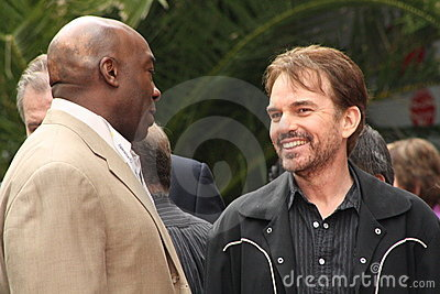 Michael Clarke Duncan and Billy Bob Thornton Editorial Stock Photo