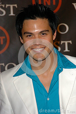 Michael Copon Editorial Stock Photo