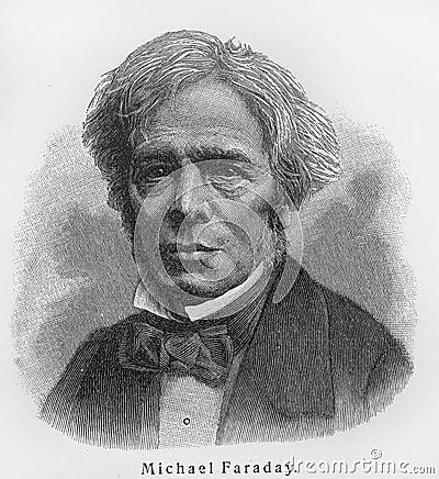 Michael Faraday Editorial Image