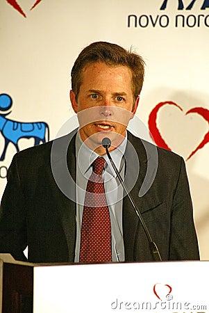 Michael J Fox, Michael J. Fox Editorial Stock Photo