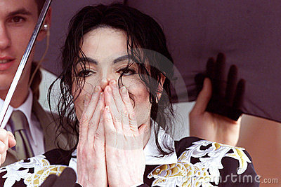 Michael Jackson Editorial Stock Image