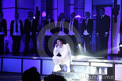 Michael Jackson Double Editorial Photography