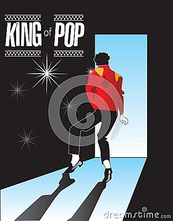 Free Michael Jackson, King Of Pop Memorial 1 In Series! Stock Photos - 9991493