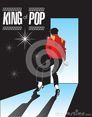 Michael Jackson, King of Pop Memorial 1 in series! Editorial Stock Photo