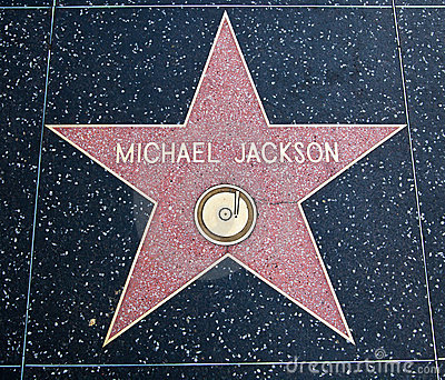 Michael Jackson star Editorial Photography