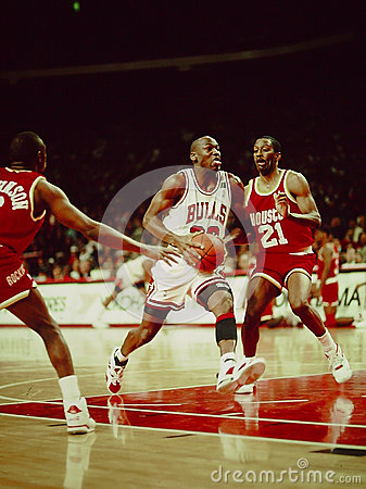 Michael Jordan Chicago Bulls Editorial Stock Photo