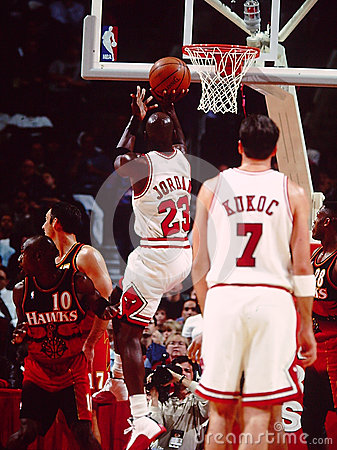 Michael Jordan Chicago Bulls Editorial Stock Image