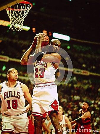 Michael Jordan Chicago Bulls Editorial Image
