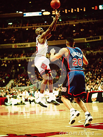 Michael Jordan Chicago Bulls Editorial Photography