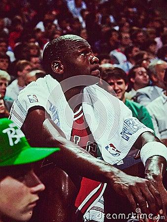 Michael Jordan Chicago Bulls Editorial Stock Photo