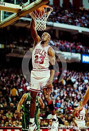 Michael Jordan Chicago Bulls Editorial Photo
