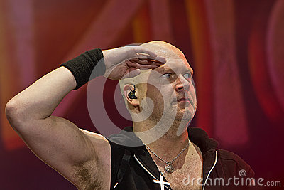 Michael Kiske (Unisonic) Editorial Stock Photo