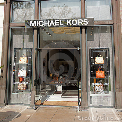 Michael Kors Boutique Editorial Photo