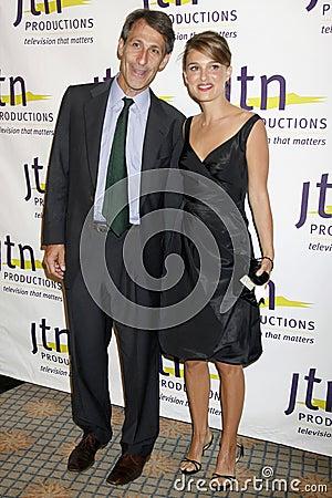 Michael Lynton, Natalie Portman Editorial Photo