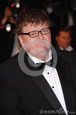 Michael Moore Editorial Stock Image