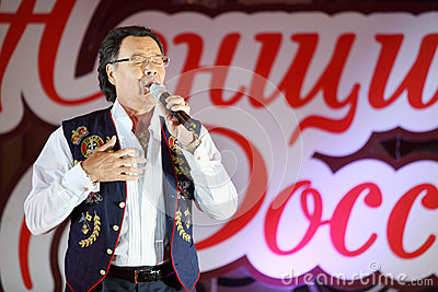 Michael Muromov sings Editorial Photo