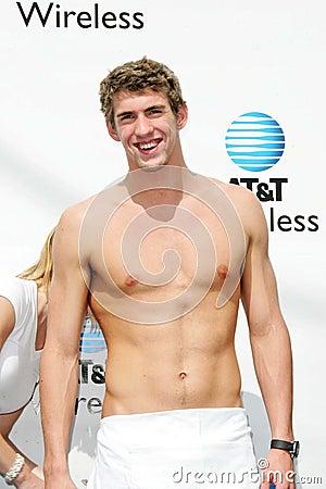 Michael Phelps Editorial Photo