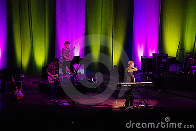 Michael W. Smith in concert Editorial Image