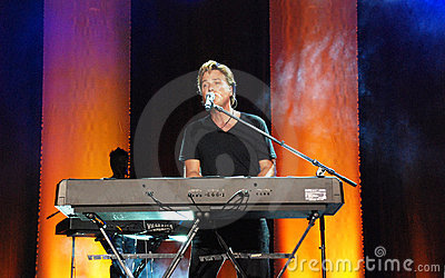 Michael W. Smith in concert Editorial Stock Image
