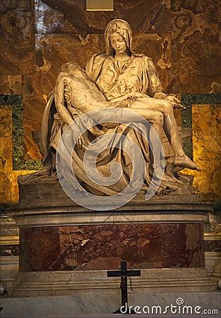 Michaelangelo Pieta Sc...