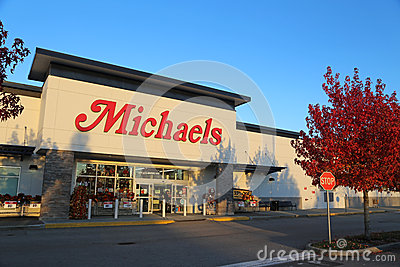 Michaels store Editorial Stock Photo