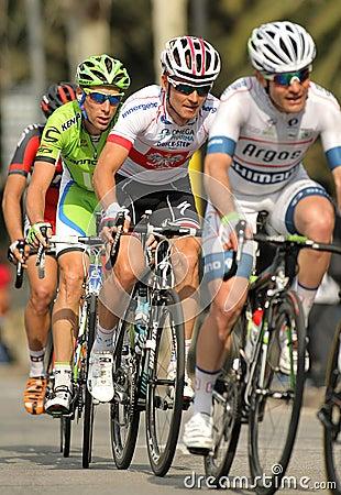 Michal Golas and Tiziano Dall Antonia Editorial Photo