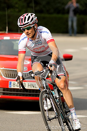 Michal Golas of Omega Pharma Quickstep Editorial Stock Photo