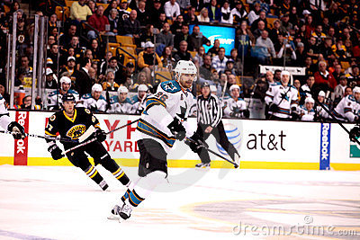 Michal Handzus San Jose Sharks Editorial Photo