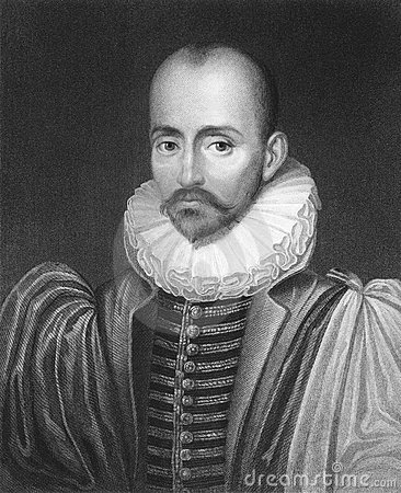 Michel de Montaigne Editorial Stock Image