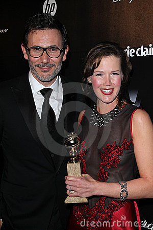 Michel Hazanavicius, Adria Tennor Editorial Image