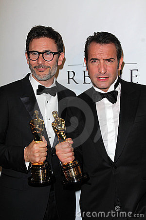 Michel Hazanavicius, Jean Dujardin Editorial Photography