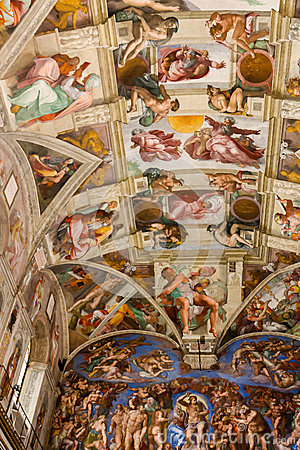 an analysis of paintings in the sistine chapel in the vatican city Vatican tours & tickets the main attractions in vatican city are st peter's basilica, the vatican museums and the sistine chapel st peter michelangelo's frescoes adorn the ceiling of the sistine chapel, with paintings depicting stories from the life jesus and moses painted on the.