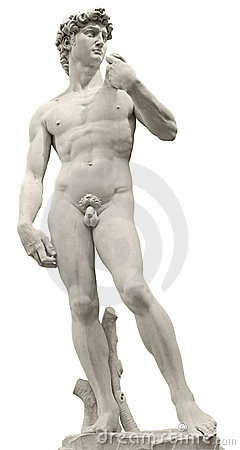 Free Michelangelo S David With Clipping Path Royalty Free Stock Photography - 9880897