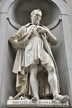 Free Michelangelo Statue In The Center Of Florence City , Italy Royalty Free Stock Image - 15639206