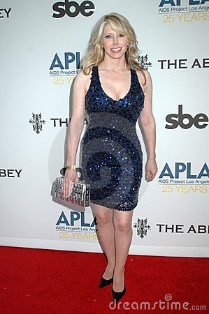 Michelle Harris at the APLA 'The Envelope Please' Oscar Viewing Party. The Abbey, West Hollywood, CA 02-22-09 Editorial Stock Image