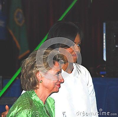 Michelle Obama Editorial Stock Photo